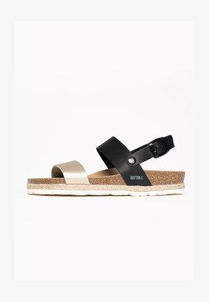 TONE - Sandały na koturnie - gold