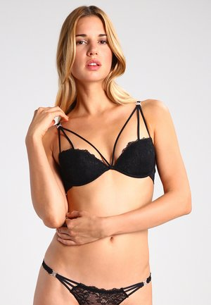 TEMPTATION - Push-up bra - black