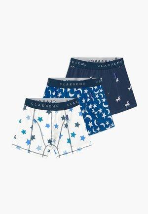 BOYS BOXER  3 PACK - Pants - blue