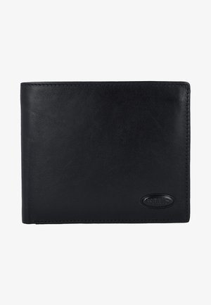 MONTE ROSA RFID LEDER - Geldbörse - black