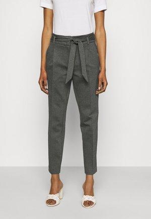 TROUSER - Pantalones - mid grey melange
