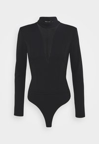 Nly by Nelly - PLUNGE - Long sleeved top - black - 0