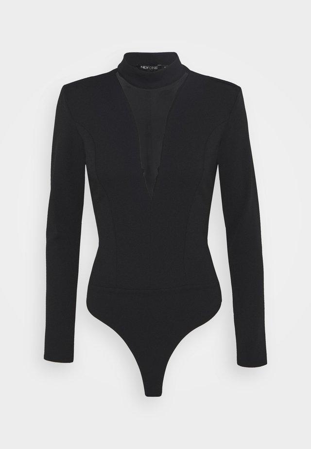 PLUNGE - Langarmshirt - black