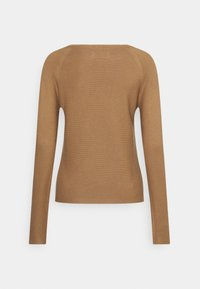 Marc O'Polo DENIM - LONG SLEEVE CREW NECK - Jumper - milky coffee - 1
