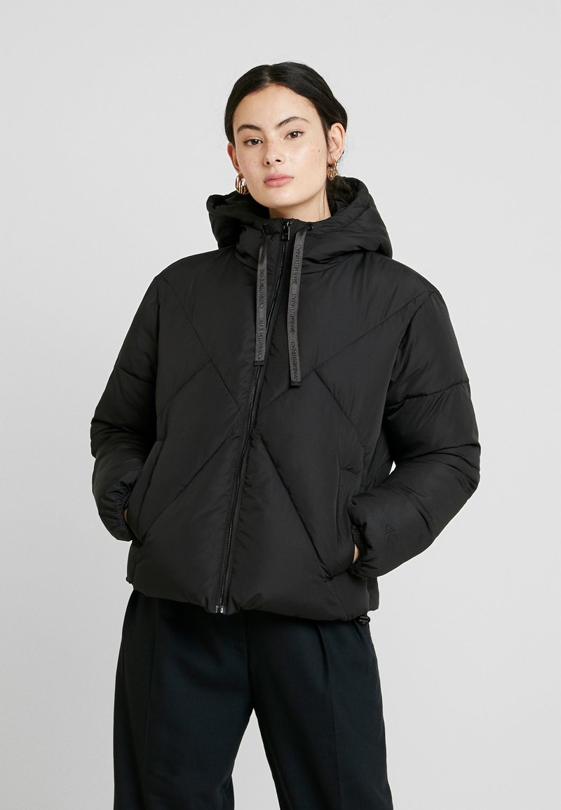 Calvin Klein Jeans - QUILTED PUFFER JACKET - Winter jacket - black