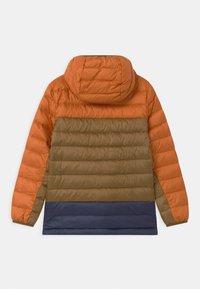 Patagonia - BOYS REVERSIBLE HOODY - Down jacket - desert orange - 1