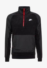 Nike Sportswear - WINTER - Fleecetrøjer - black/off noir/gym red/white - 3