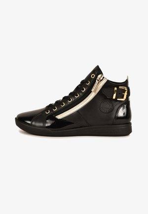 PALME F4G - Sneakers hoog - black, beige