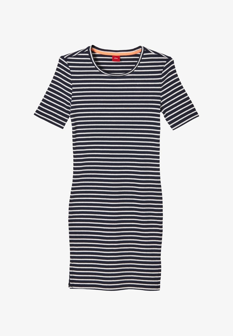s.Oliver - JURK - Jumper dress - blue stripes