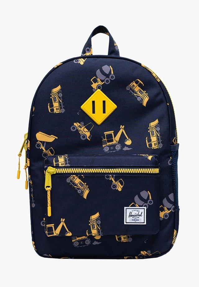 School bag - construction zone