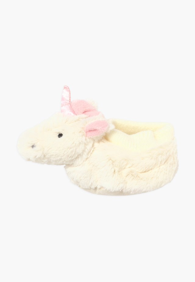 BASHFUL UNICORN BOOTIES - Geboortegeschenk - white