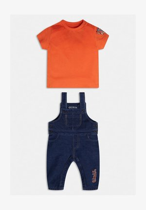 SET - Tuinbroek - orange