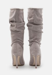 BEBO - SHORE - Kozačky na vysokém podpatku - grey - 3