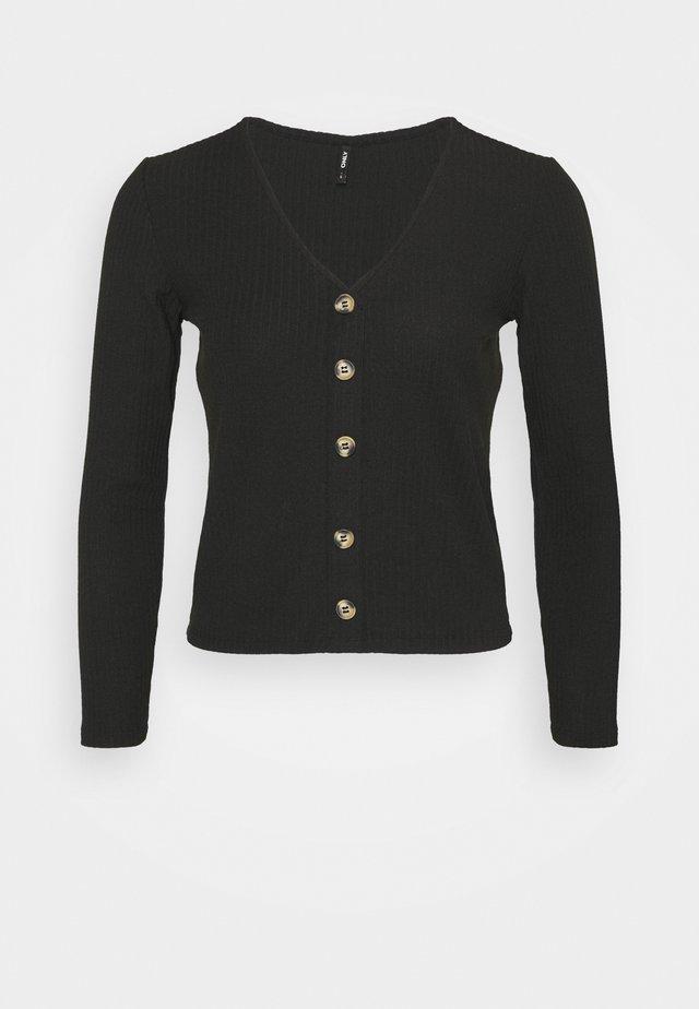 ONLNELLA - Pitkähihainen paita - black