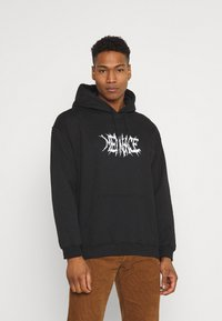 Mennace - LIGHTNING STEED REGULAR HOODIE - Luvtröja - black - 0