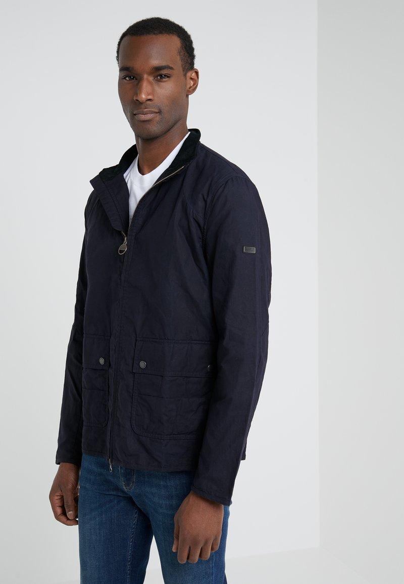 Barbour International - FARLEIGH CASUAL - Summer jacket - dark indigo