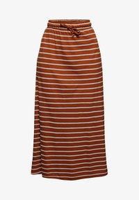 Esprit - A-line skirt - caramel - 6