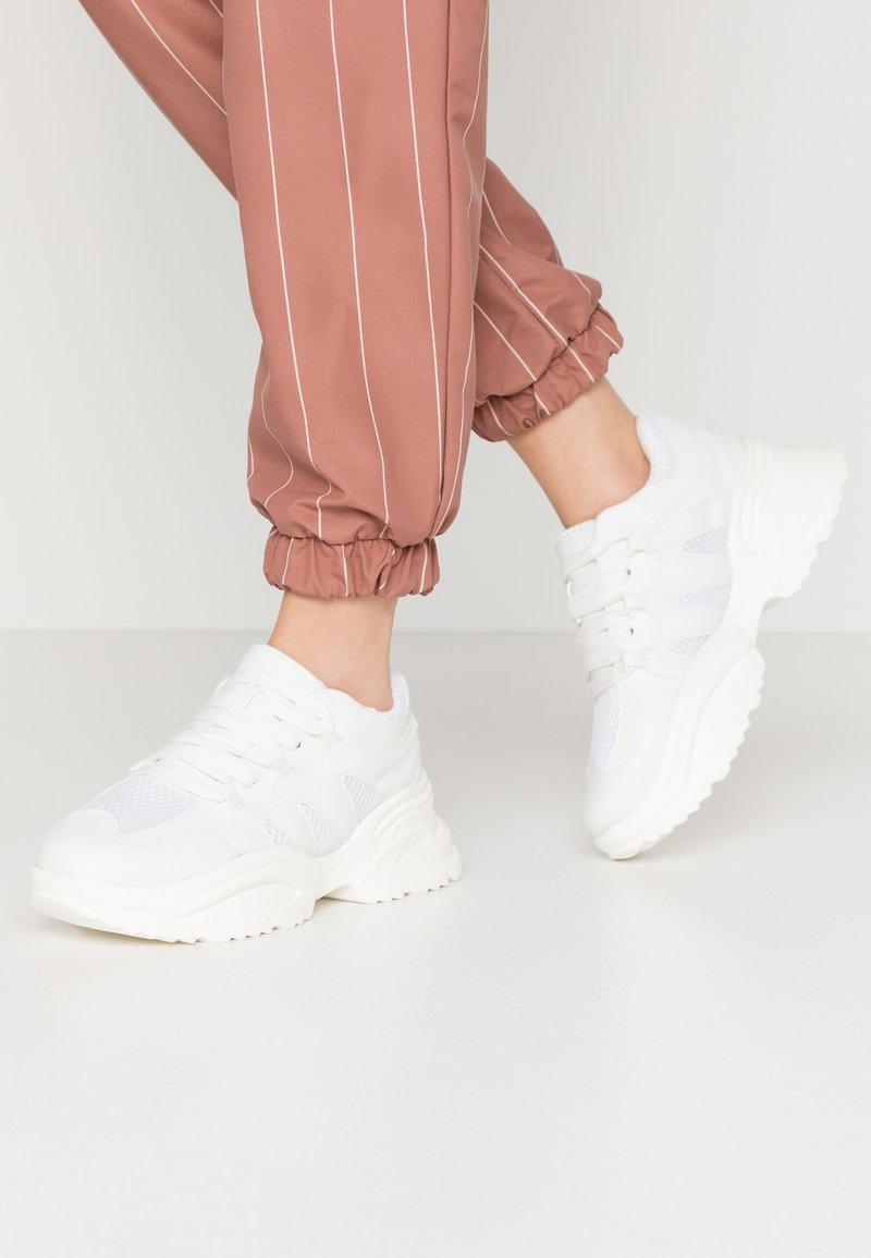 Missguided - WAVE TRAINER - Sneakersy niskie - white