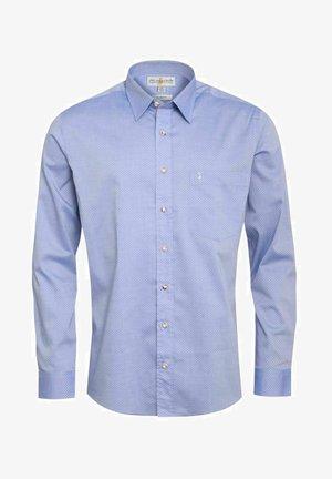 XAVERL  SLIM FIT - Shirt - blau