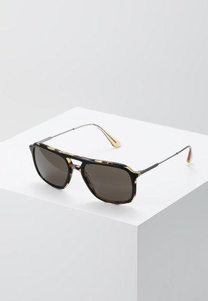 Lunettes de soleil - top black/medium havana