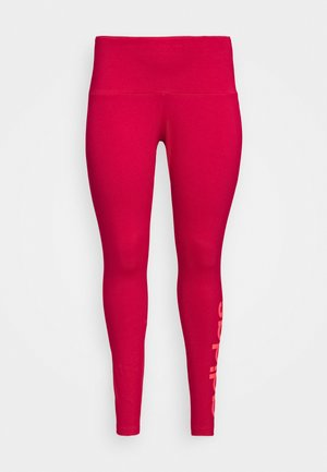 ESSENTIALS TRAINING SPORTS LEGGINGS - Legging - power pink/signal pink