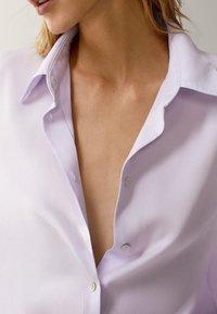 Massimo Dutti - UNIFARBENES - Overhemdblouse - neon pink - 3