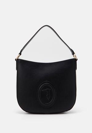 LISBONA SHOPPER LOGO - Tote bag - black