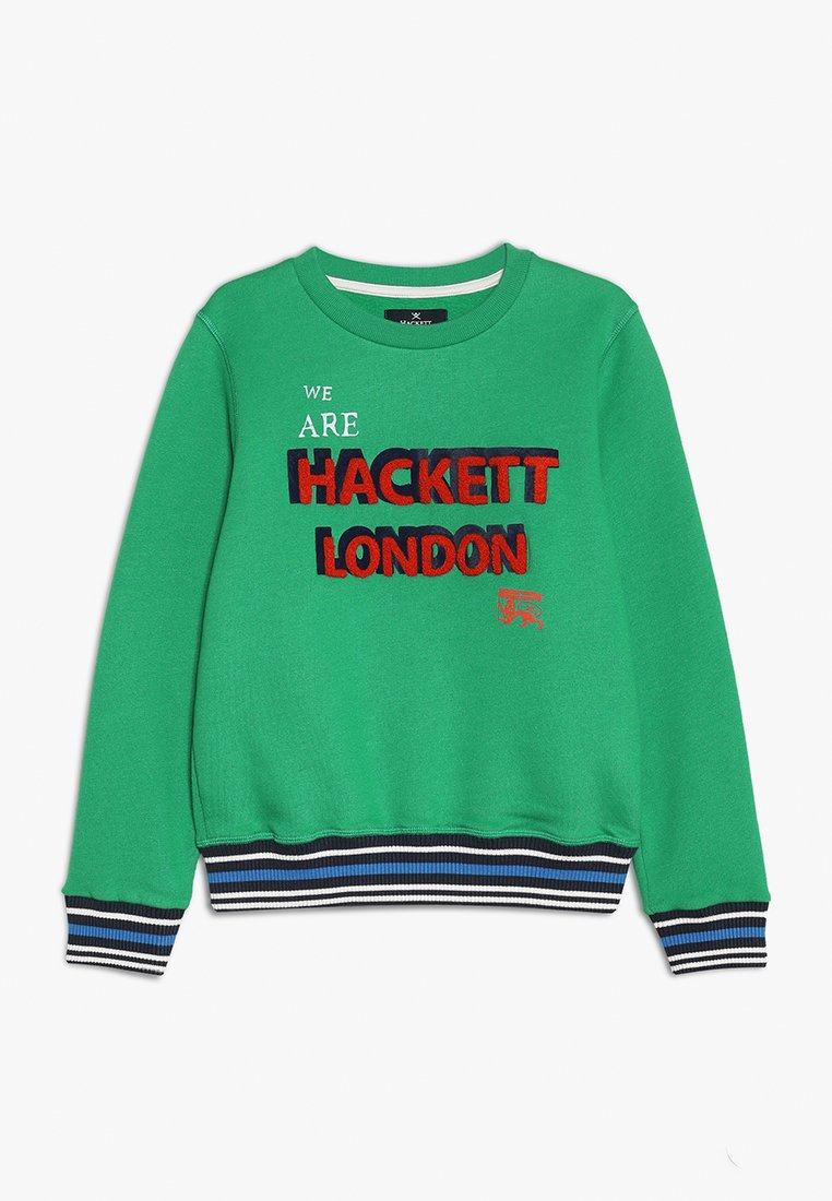 Hackett London - FLOCK LOGO - Sweatshirt - green