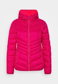 CMP - WOMAN JACKET FIX HOOD - Winter jacket - magenta - 3
