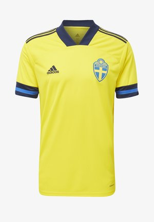 SWEDEN SVFF HOME JERSEY - Nationalmannschaft - yellow/indigo