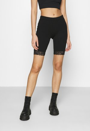 VMMAXI BIKER SHORTS 2 PACK - Shorts - black