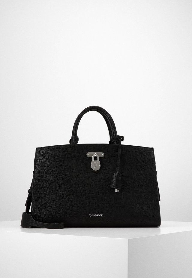 DRESSED BUSINESS TOTE  - Borsa a mano - black