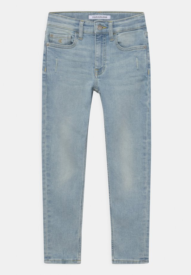 TAPERED LUSTER - Jeans slim fit - light blue