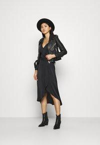 Deadwood - JOAN JACKET - Leather jacket - black - 1