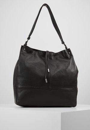 LEATHER - Käsilaukku - black