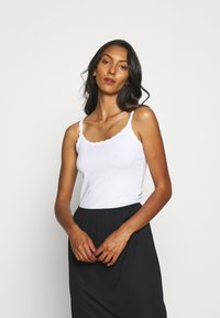 Marks & Spencer London - 2 PACK - Maglietta intima - white/black - 1