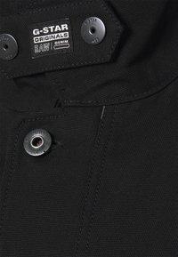 G-Star - SHORT BIKER OVERSHIRT - Summer jacket - black - 2