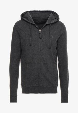 BRACE HOODY - Zip-up sweatshirt - charcoal marl