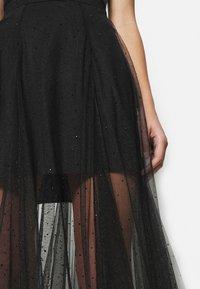AllSaints - ELVIE TULLE SKIRT - A-line skirt - black - 5