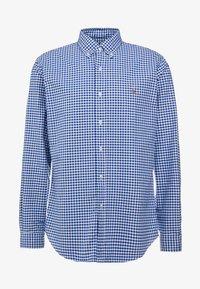 Polo Ralph Lauren - CUSTUM FIT OXFORD - Shirt - blue/white gingham - 5