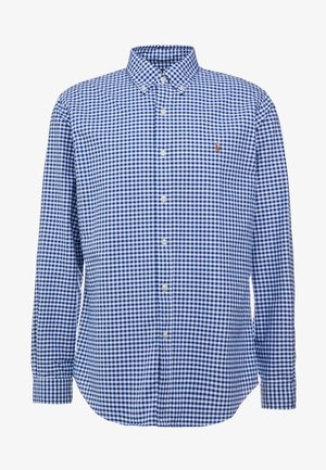 CUSTUM FIT OXFORD - Koszula - blue/white gingham