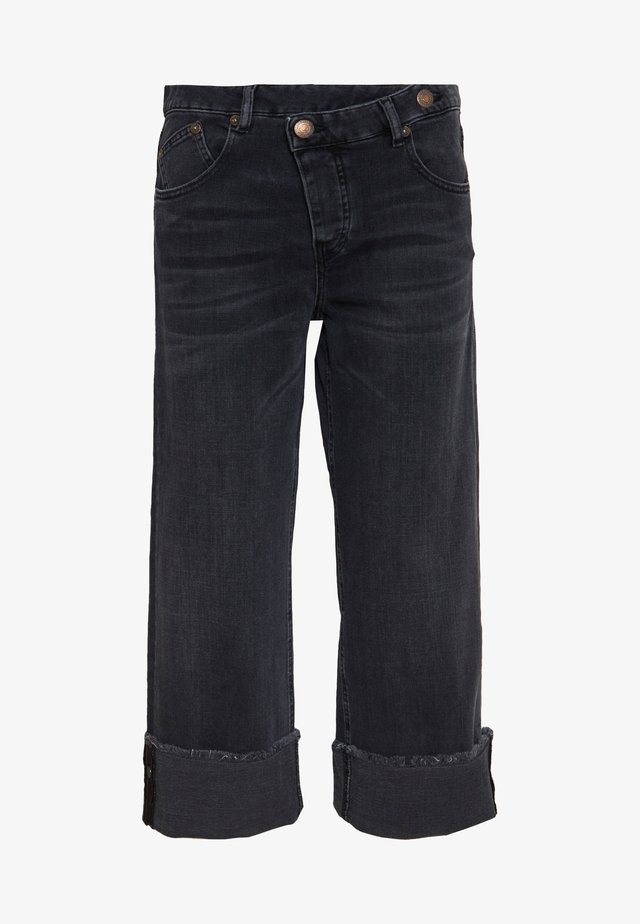 MAZE TOUCH - Relaxed fit jeans - inox