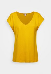 Anna Field - Basic T-shirt - golden yellow - 5