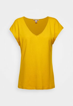 T-shirts basic - golden yellow