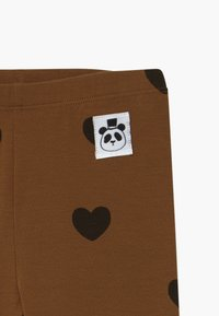Mini Rodini - HEARTS - Leggings - Trousers - brown - 3