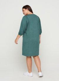 Zizzi - Jumper dress - sea pine mel - 1