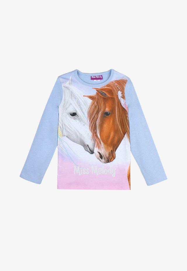 MISS MELODY - Sweatshirt - brunnera blue
