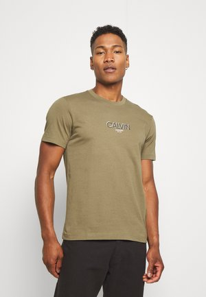 SMALL TONE LOGO - Print T-shirt - green