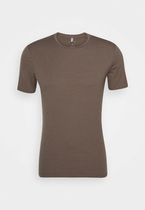 MENS ANATOMICA CREWE - T-shirts basic - driftwood