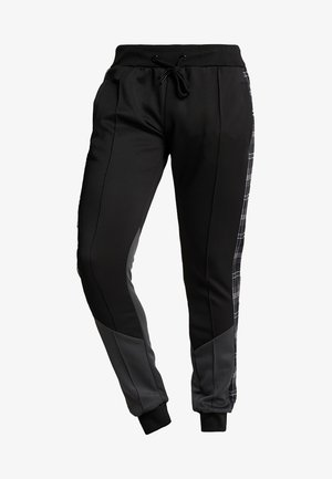 TILLER - Tracksuit bottoms - black/grey